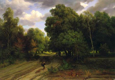 Charles-François Daubigny - La forêt de Fontainebleau