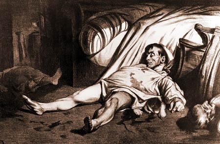 Honoré Daumier - Massaker in der Rue Transnonain