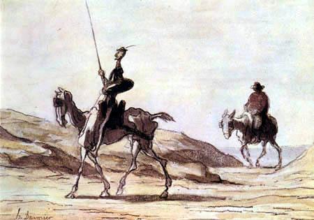 Honoré Daumier - Don Quixote