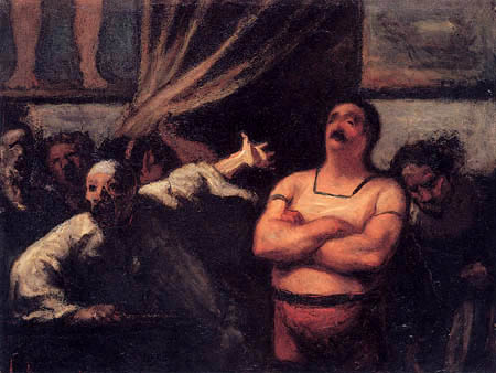 Honoré Daumier - The Strong Man