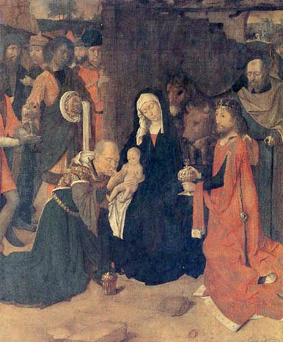 Gerard David - Die Anbetung der Könige