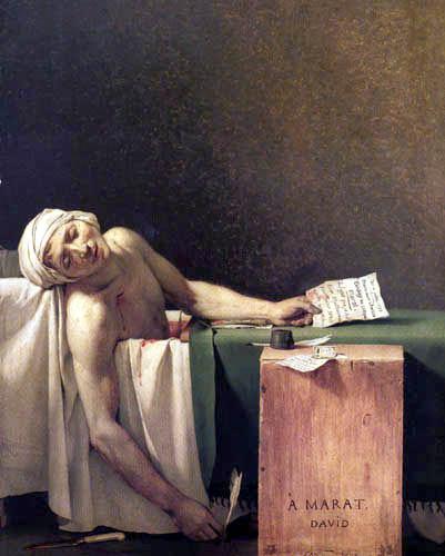 Jacques-Louis David - Der Tod des Marat