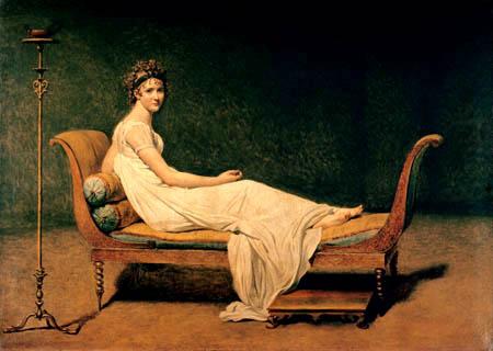 Jacques-Louis David - Madame Juliette Recamier
