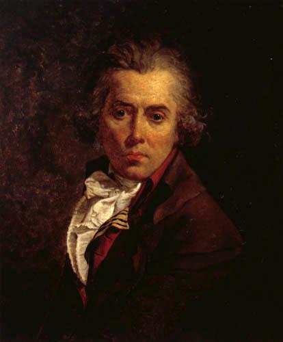 Jacques-Louis David - Selbstbildnis