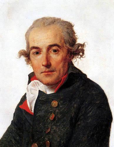 Jacques-Louis David - Porträt François Mellinet