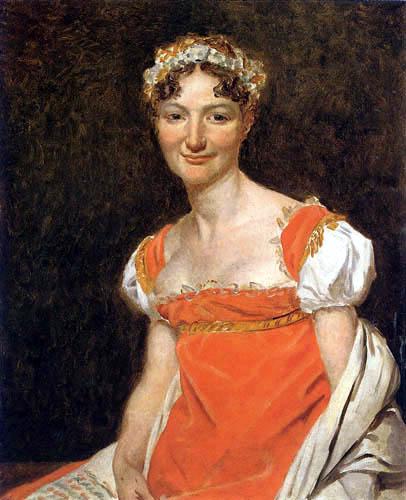 Jacques-Louis David - Bildnis Pauline Jeanin