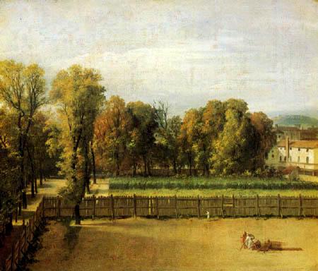 Jacques-Louis David - Jardin du Luxembourg