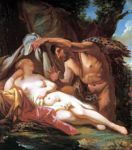 Jacques-Louis David - Jupiter und Antiope