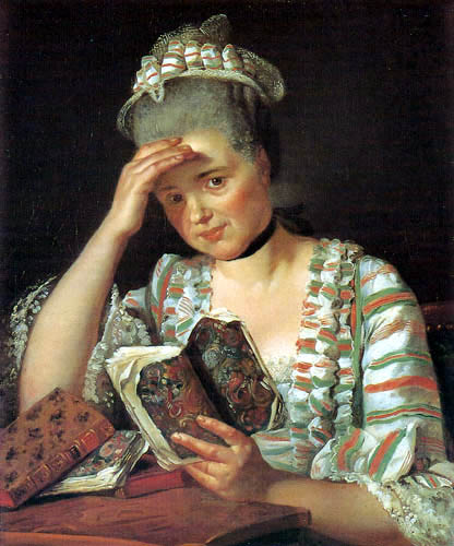 Jacques-Louis David - Portrait of Marie-Josèphe Buron