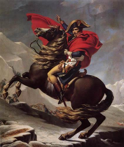Jacques-Louis David - Napoleon als Konsul