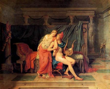 Jacques-Louis David - Paris und Helena