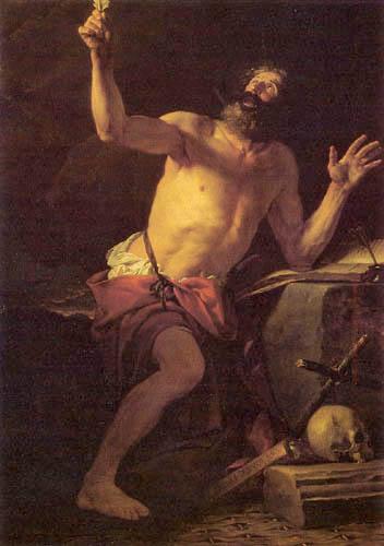 Jacques-Louis David - Der hl. Hieronymus