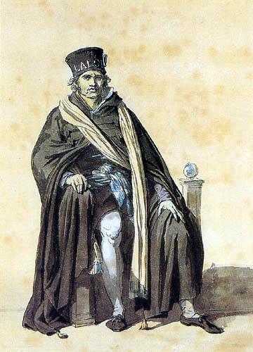 Jacques-Louis David - Hoftracht