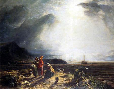 Henry Dawson - Peat Gatherers