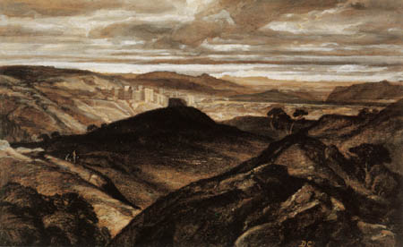 Alexandre Gabriel Decamps - Landscape