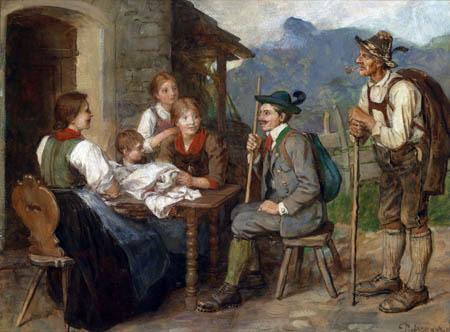Franz von Defregger - Der Salon-Tiroler