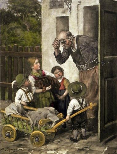 Franz von Defregger - Schwer erkrankt
