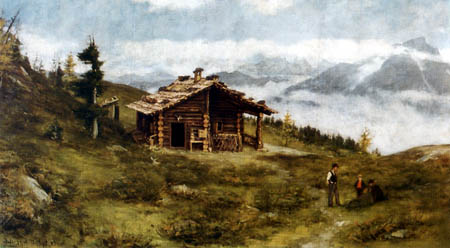 Franz von Defregger - Landscape