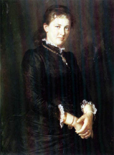 Franz von Defregger - Anna Defregger