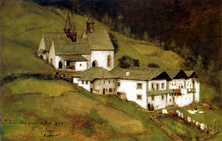 Franz von Defregger - Three churches