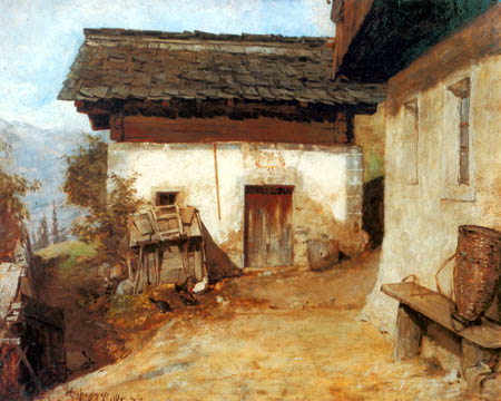 Franz von Defregger - The birthplace of the artist