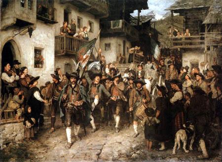 Franz von Defregger - Heimkehr der Sieger