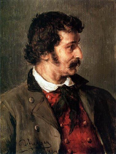 Franz von Defregger - Mr. Speckbacher
