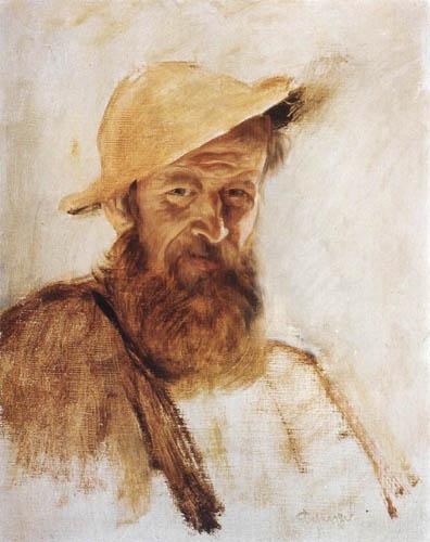 Franz von Defregger - Farm laborer
