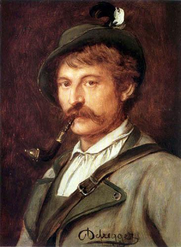 Franz von Defregger - Hunter