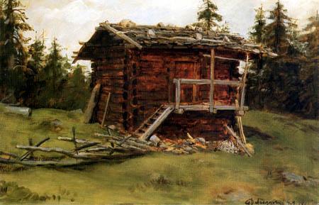 Franz von Defregger - Cabin