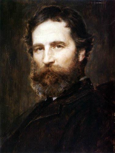 Franz von Defregger - Self portrait
