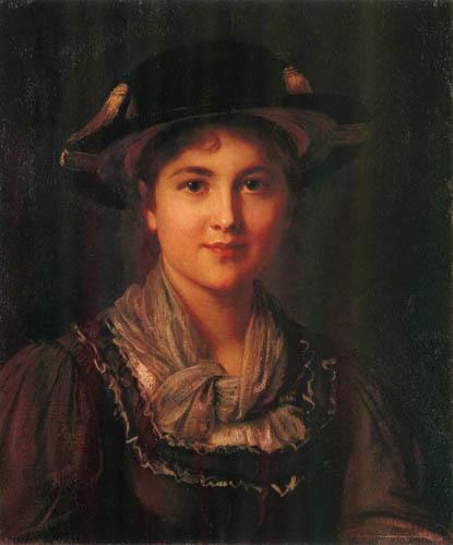 Franz von Defregger - Portrait of a Lady