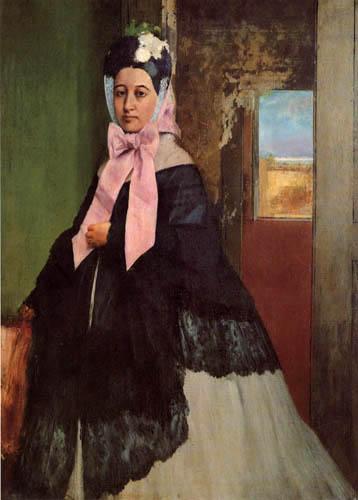 Edgar (Hilaire Germain) Degas (de Gas) - Therese Degas