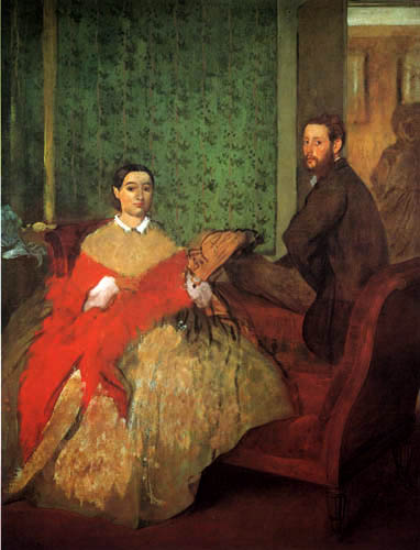 Edgar (Hilaire Germain) Degas (de Gas) - Edmond und Therese Morbili