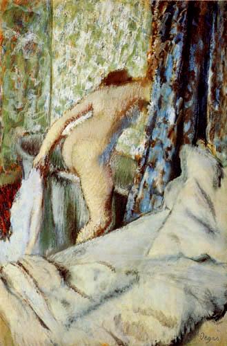 Edgar (Hilaire Germain) Degas (de Gas) - Das Morgenbad