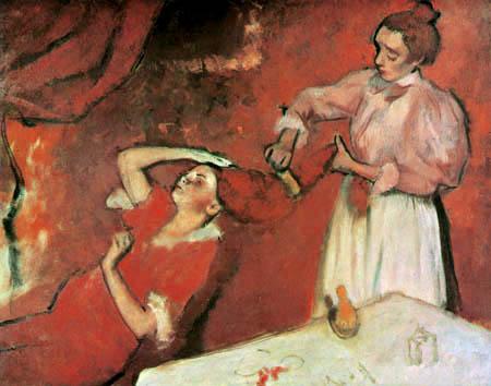 Edgar (Hilaire Germain) Degas (de Gas) - Die Coiffure