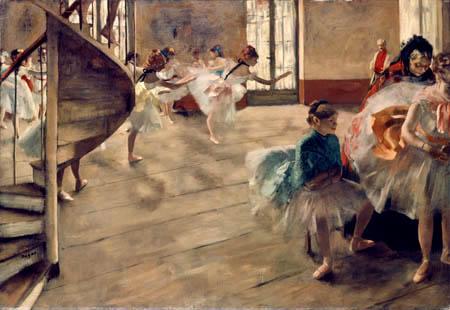 Edgar (Hilaire Germain) Degas (de Gas) - Die Tanzprobe