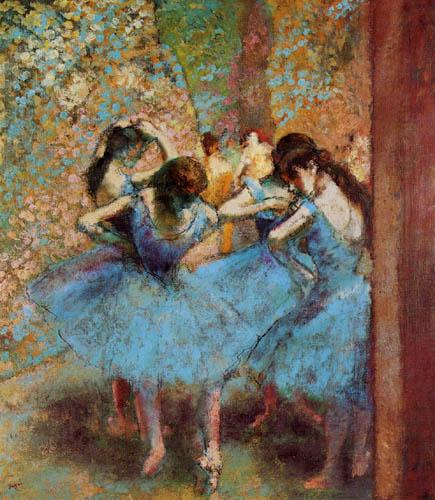 Edgar (Hilaire Germain) Degas (de Gas) - Der Stern (Tänzerinnen in Blau)