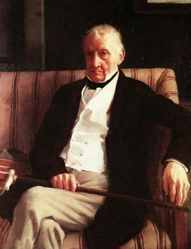 Edgar (Hilaire Germain) Degas (de Gas) - Bildnis des Hilaire de Gas