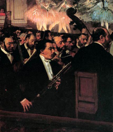 Edgar (Hilaire Germain) Degas (de Gas) - Das Orchester der Pariser Oper