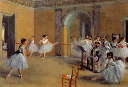 Edgar (Hilaire Germain) Degas (de Gas) - Tanzsaal in der Oper