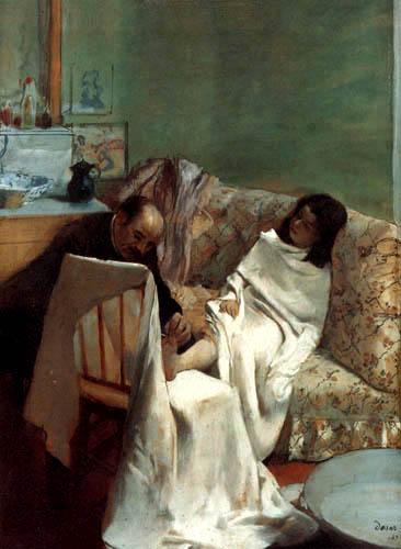 Edgar (Hilaire Germain) Degas (de Gas) - Die Pediküre