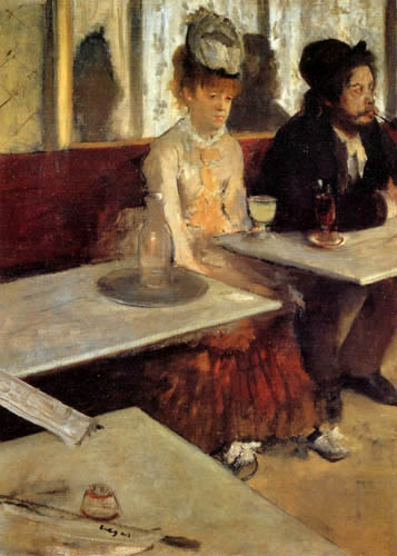 Edgar (Hilaire Germain) Degas (de Gas) - Der Absinth
