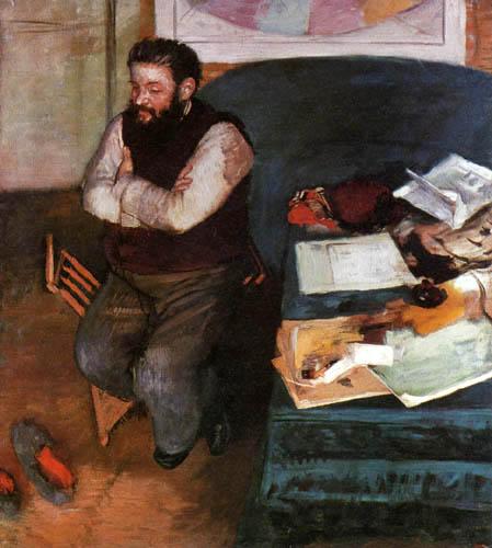 Edgar (Hilaire Germain) Degas (de Gas) - Bildnis Diego Marteli