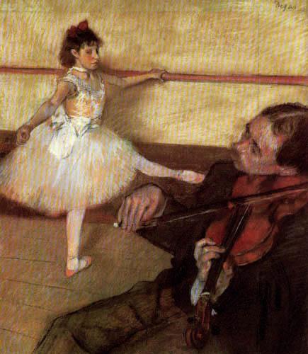 Edgar (Hilaire Germain) Degas (de Gas) - Die Ballettstunde