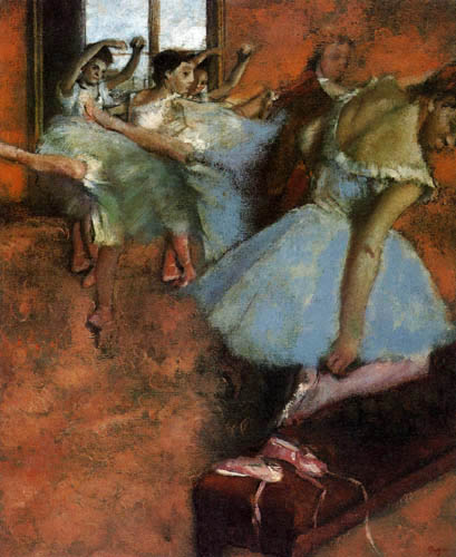 Edgar (Hilaire Germain) Degas (de Gas) - Die Ballettklasse