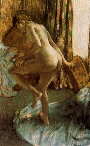 Edgar (Hilaire Germain) Degas (de Gas) - Nach dem Bad