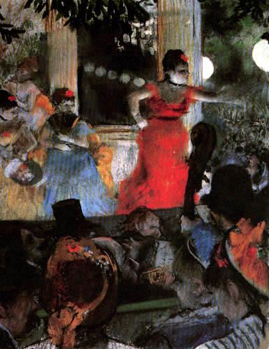 Edgar (Hilaire Germain) Degas (de Gas) - Cafe-Concert