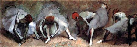 Edgar (Hilaire Germain) Degas (de Gas) - Tänzerinnenfries