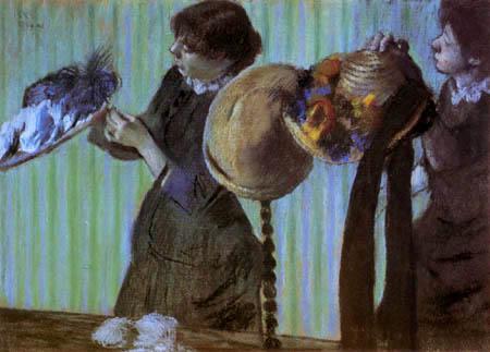 Edgar (Hilaire Germain) Degas (de Gas) - Kleine Modistinnen